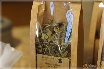 Thé blanc de Chine Baï Mu Tain parenthèse café